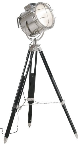 Kare Design Stehleuchte Metropolis Spot, große Standleuchte mit Hollywood Charakter, höhenverstellbare Stehlampe auf Dreibein, (H/B/T) 130x30x51cm