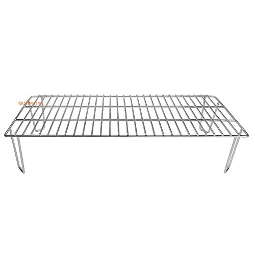 QuliMetal Grill Rack for Green Mountain Grill GMG-6008 Upper Rack for Daniel Boone Pellet Grill, Green Mountain Grills GMG Grill Grate Accessories Warming Rack Replacement Part
