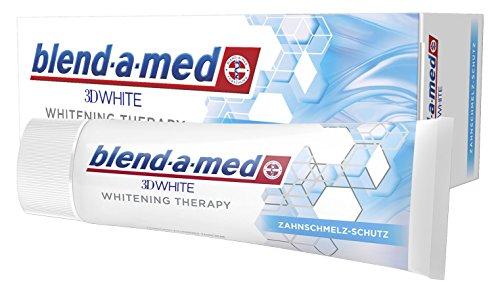 Blend-a-med 3D-White Whitening Therapy Zahnpasta, Zahnschmelz-Schutz, 75 ml