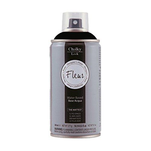 Fleur Designer'S Paint Fleur Spray Chalky Look - 300Ml - F77 Black