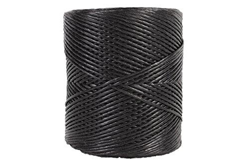 Cofan 08101090 Hilo de rafia, Negro, 750 g