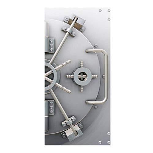 Apalis Fototapete - Wandbild XXL No.19 Safe Power 100x210cm Foto Tapeten Tresor Bank, Größe:210cm x 100cm