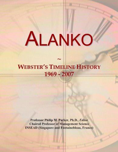Alanko: Webster's Timeline History, 1969 - 2007