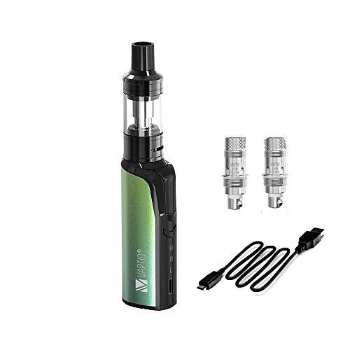 VAPTIO 30W Cosmo Kit e-cigs Kit sigaretta elettronica da 1500 mAh incorporato Kit sigaretta elettronica Vape No E Liquido No Nicotina (Verde primavera)