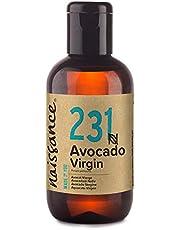 Naissance Olio di Avocado Vergine 100ml - Puro, Naturale, Vegano - Idratante naturale per Corpo, Viso, Mani e Capelli