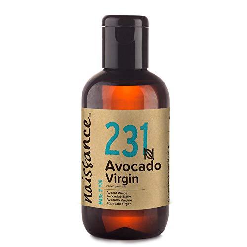 Naissance Aceite Vegetal de Aguacate n. º 231 – 100ml - 100% puro, virgen, prensado en frío, certificado ecológico, vegano y no OGM
