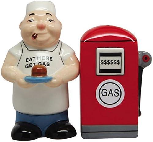 precio razonable Salero Salero Salero y pimentero Juego de comer aquí GET GAS de cerámica nuevo regalos 9472  el más barato
