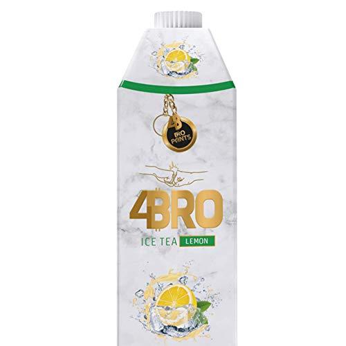 4Bro - Ice Tea Lemon 1000ml | der Eistee für Gamer. Shisha und Eis Tee Liebhaber