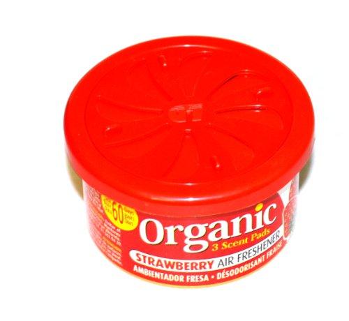 Organic Can Autoduft die Duftdose fürs Auto in Strawberry - Erdbeere