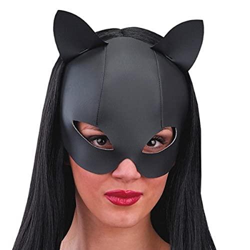 Carnival Toys Maschera Gatta Nera Catwoman Carnevale Halloween Feste Travestimenti Cosplay
