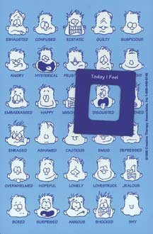 Poster Discount How are You Feeling Today? Emotions Magnet 4x6