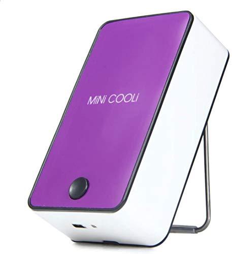 Pegamento injertado de la extensión del secador de la pestaña Pegamento seco de Mini Ventilador Portátil Soplador de Aire Acondicionado USB Mini Herramienta de Ventilador (Morado)