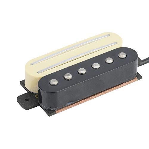 Fafeims elektrische gitaar, pickup, mini draagbare dubbele pickup, gitaaraccessoires