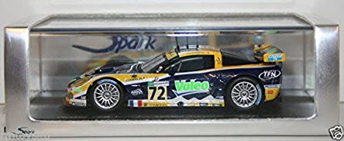 punto de venta barato SPARK 1 43 43 43 SCALE RESIN MODEL S0168 - CORVETTE C6-R TEAM LM2007 LUC ALPHAND  mejor marca
