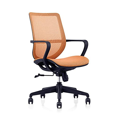 n.g. Living Room Accessories Office Chair Mesh Desk Chairs with Adjustable Armrests and Back Support Ergonomic Swivel Computer Chair for Home Office Study Gaming Black