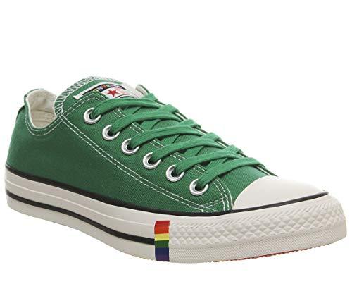 Converse Chuck Taylor All Star Zapatillas de Lona Unisex para Mujer, Color Verde, Talla 35.5 EU