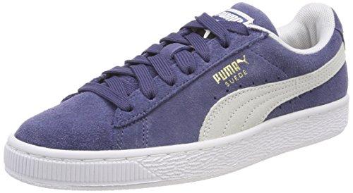 Puma Unisex-Erwachsene Suede Classic Sneaker, Blau (Blue Indigo White), 42.5 EU