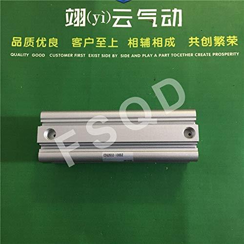 Fevas CDQ2B32-50DZ CDQ2B32-75DZ CDQ2B32-100DZ SMC Pneumatics Pneumatic Cylinder Pneumatic Tools Compact Cylinder - (Color: CDQ2B32-100DZ)