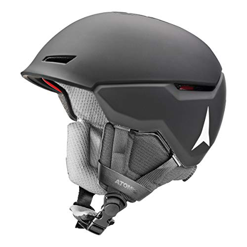Atomic All-Mountain Unisex skihelm, Revent+, maat S (51-55 cm), Zwart, AN5005640S