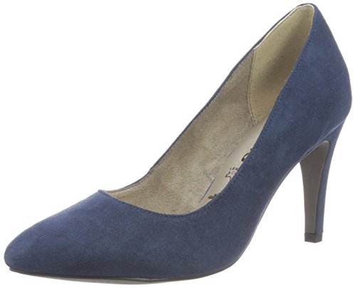 Tamaris Damen 22473 Pumps, Blau (Navy), 39 EU