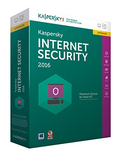 Kaspersky Internet Security 2016 Upgrade - 1 PC / 1 Jahr