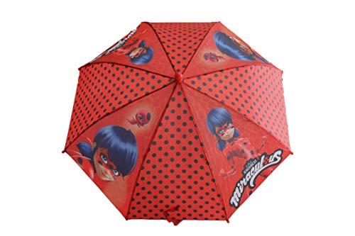 Manueller Regenschirm, mit Ladybug-Aufdruck, 40 cm