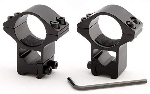 Atom Optics 9.5-11mm Cola de Milano Rifle Alcance Monturas/High-Profile Escopetas, Rifle Vista Aros