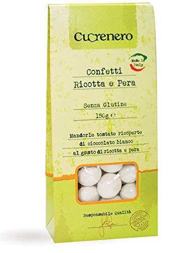 Cuorenero Confetti Senza Glutine Ricotta e Pera - 1 x 150 Grammi