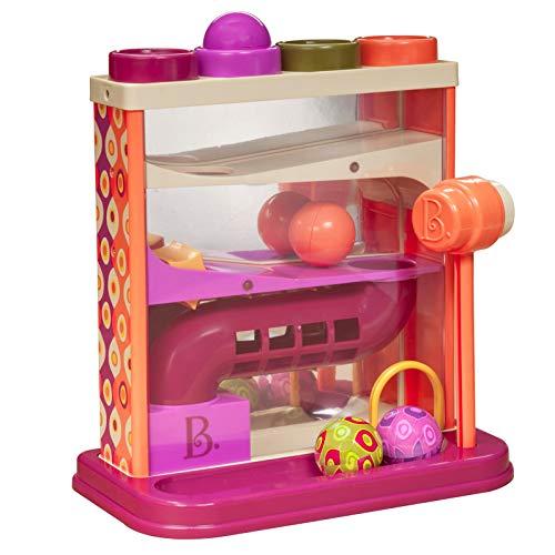 B. Toys B. Whacky Ball – Giocattolo con Palline e Martello – Giochi per attività motorie – per Bambini di Un Anno in su, BX1013Z