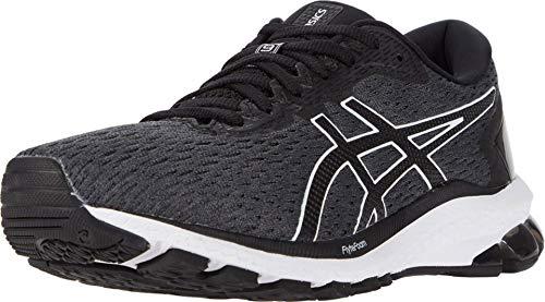 ASICS Zapatillas de correr para mujer GT-1000 9, (Portaequipajes gris/negro.), 37.5 EU