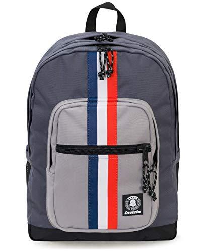 ZAINO INVICTA - JELEK - Grigio - tasca porta pc padded - 38 LT - Scuola e...