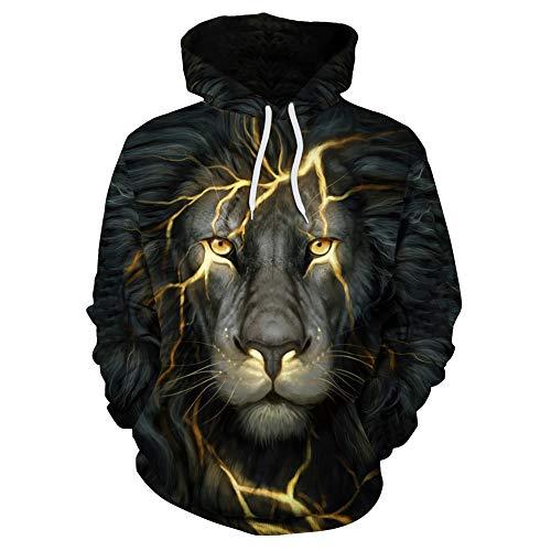Gamlifing Unisex 3D Galaxy Hoodie Neuheit Personalisiertes Sweatshirt Pullover Kapuzenstretch Outdoor Hoodie Outwear Herren Leichtes Sweatshirt Langarm Pullover Sportswear S-3XL