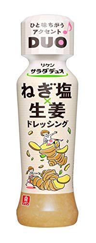 理研ビタミン サラダデュオ ねぎ塩生姜ドレッシング 190ml ×6個