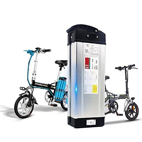 Bateria de Bicicleta Electrica 48 Voltios, Batería de Litio Hoi Pa 48V 10AH/12AH/15AH/18AH/20AH/25AH/28AH/33AH con Cargador para Modificación y Reemplazo de Bicicletas Eléctricas,48v 33ah