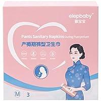 EXCEART 3個産褥生理用ナプキン産褥看護マット実用生理用ナプキン100x70cm、M