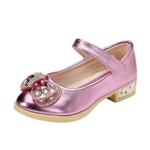 Ucoolcc 2020 Festtagsmode Mädchen Sandalen Prinzessin Schuhe Sandalen Absatz-Schuhe Oxford Sohlen Sandalette