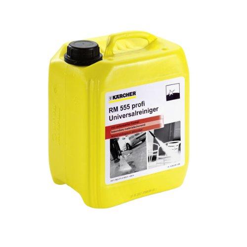 Kärcher Universalreiniger RM 555 für Hochdruckreiniger (Volumen: 5,0 l, biologisch abbaubar, äußerst materialschonend, pH neutral)