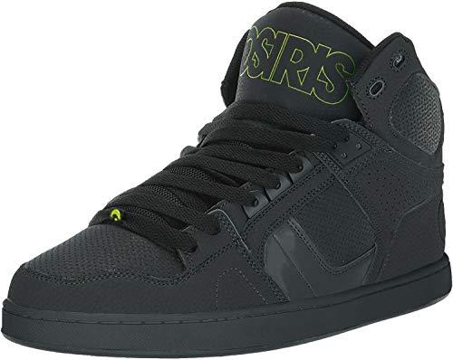 Osiris Herren NYC 83 CLK Skate Schuh, Mehrere (Black/Lime/Black), 37 EU