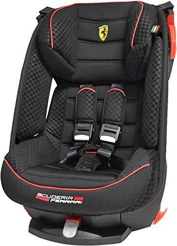 Siège auto inclinable Ferrari Gr 1 (9kg à 18kg) - 4 étoiles aux tests TCS - protection chocs latéraux - Assise inclinable 4 positions