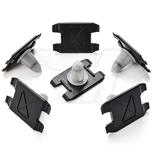 10x Zierleisten Klammer außen Rocker Formteil Radlauf Befestigung | 51718259025