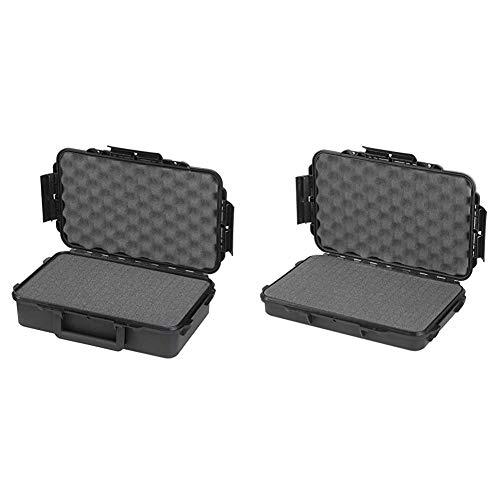 Plastica Panaro MAL8011236000162 Caso de Transporte, negro, Única + Máxima nominal MAX003S IP67 caja para accesorios