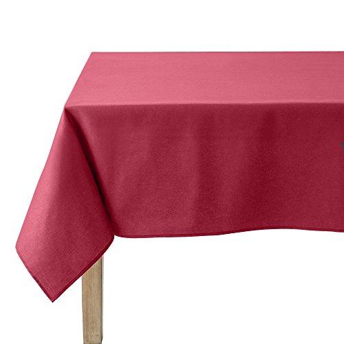 Coucke Nappe Ronde Uni Griotte Coton 180 cm