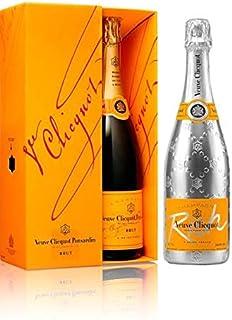 Lot duo champagne Veuve Clicquot brut con estuche y Rich