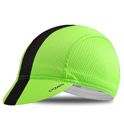 CYCEARTH Gorra de ciclismo para el sol PloPolyester transpirable gorra de béisbol para los hombres...