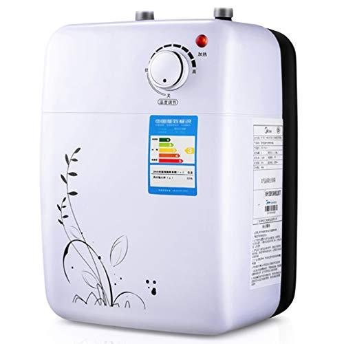 LY Instant Wärme Elektrischer Durchlauferhitzer -220V Obere Und Unterer Wasseraustritt Kleine Küche Schatz Speicherwasser 5L Küche 1500W Kleiner Wassererhitzer