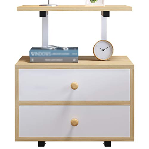 QI-CHE-YI Bedside table, modern minimalist storage cabinet, simple bedroom storage cabinet, multifunctional storage cabinet