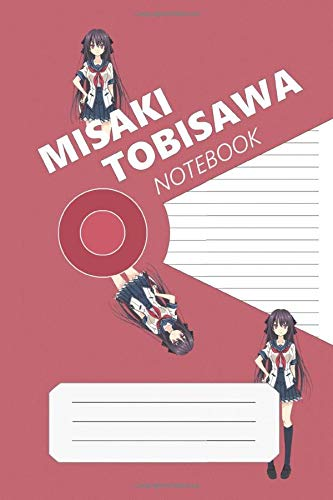 Misaki Tobisawa Notebook: Ao No Kanata No Four Rhythm, Misaki, 112 Lined Pages, 6 x 9 in, Anime Notebook Diamond