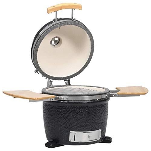 Oushome Kamado Griglia Barbecue Affumicatore in Ceramica 44 cm