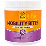Zesty Paws, Mobility Bites for Dogs, Hip and Joint, All Ages, Duck Flavour, 90 Soft Chews