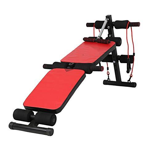KUKU Sitados, Ejercicio Ajustable Taburete Plegable, Inicio Fitness AB Equipo De Ejercicio Fitness